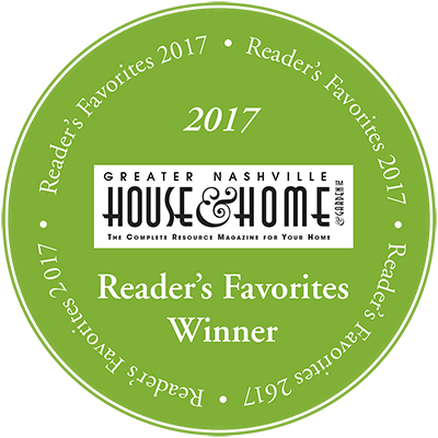 Readers Favorite Awards 2017 Nashville House And Home And Garden