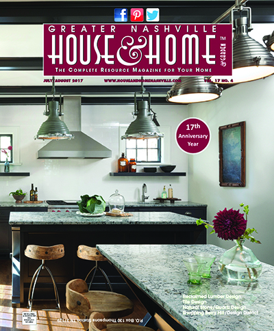 July August 2017 Nashville House And Home And Garden