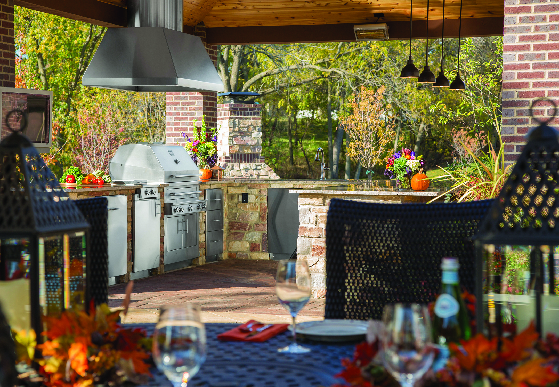 Enjoy Your Outdoor Kitchen All Year Long Nashville House And Home And Garden
