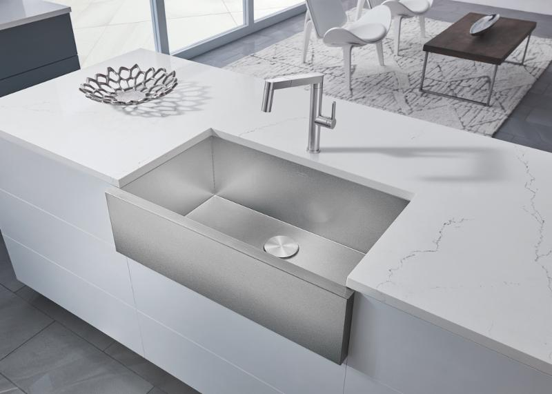 Merveilleux BLANCO Launches The Innovative PRECISION® R0 Farmhouse Sink Crafted Of Its  Groundbreaking DURINOX® Material