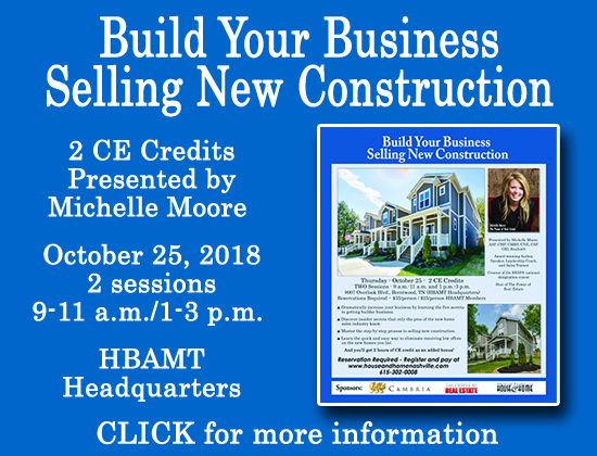 Build Your Business Selling New Constrcution