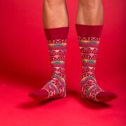 Sock Fancy Rolls Limited Edition Design Just in Time for the Holidays