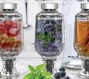 DAZZLE AND IMPRESS YOUR HOLIDAY GUESTS WITH YOUR NEW INFUSED MIXOLOGY SKILLS…CHEERS!