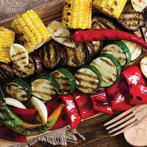 Steps to Grill Vegetables