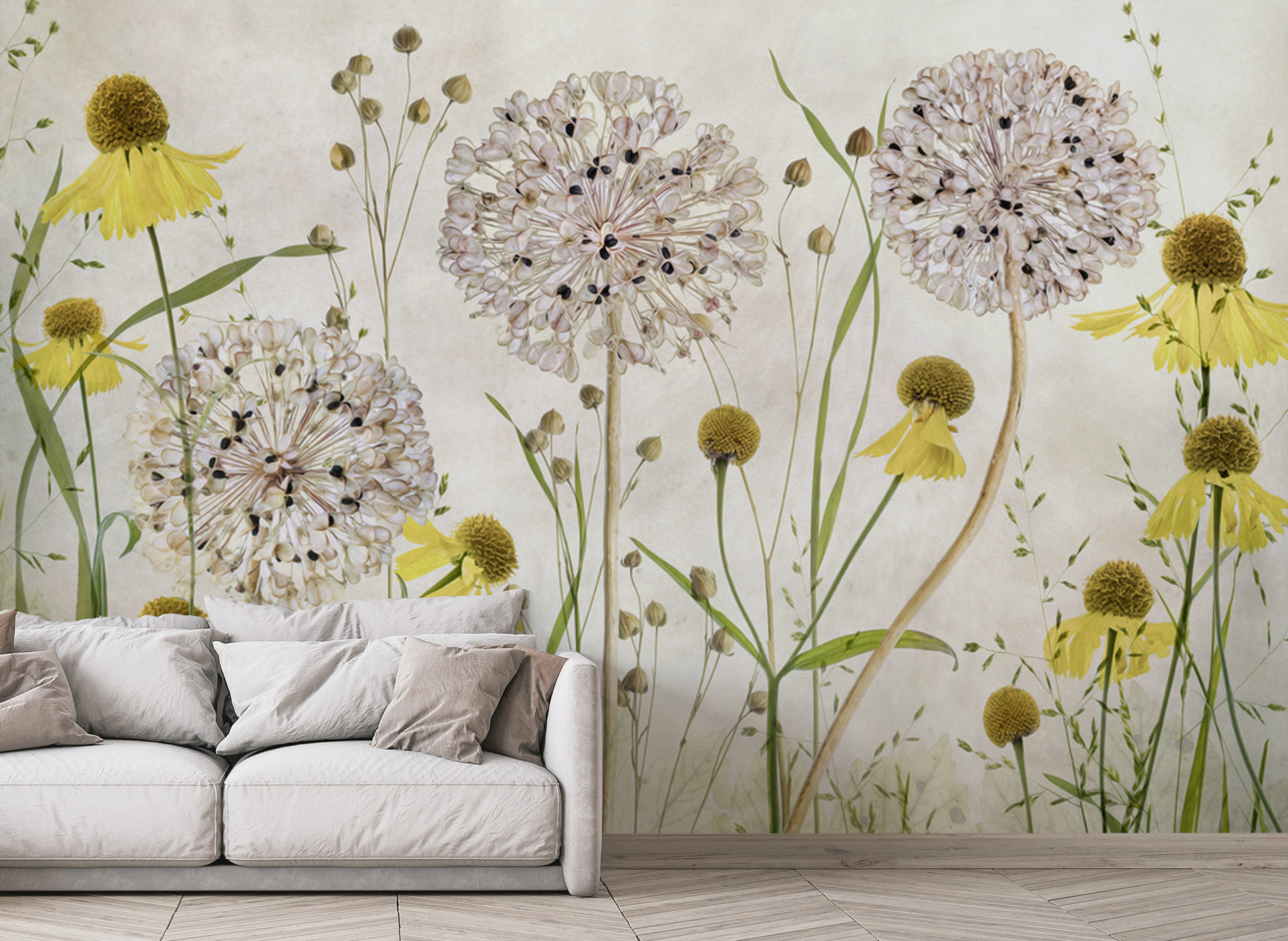 Alluiums and Heleniums by Wallsauce